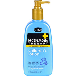 Shikai Borage Therapy Children's Lotion Fragrance-free - 8 Fl Oz