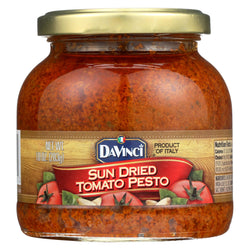 Davinci Sun Dried Tomato Pesto Sauce - Case Of 6 - 10 Oz.