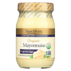 Spectrum Naturals Organic Mayonnaise With Cage Free Eggs - Case Of 12 - 16 Oz.