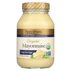 Spectrum Naturals Organic Mayonnaise With Cage Free Eggs - Case Of 12 - 32 Oz.