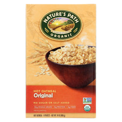 Nature's Path Organic Hot Oatmeal - Original - Case Of 6 - 14 Oz.