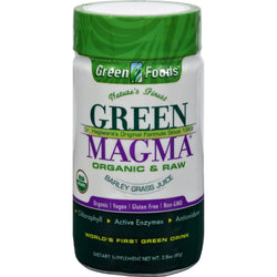 Green Foods Dr Hagiwara Green Magma Barley Grass Juice Powder - 2.8 Oz