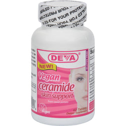 Deva Vegan Ceramide Skin Support - 60 Tablets