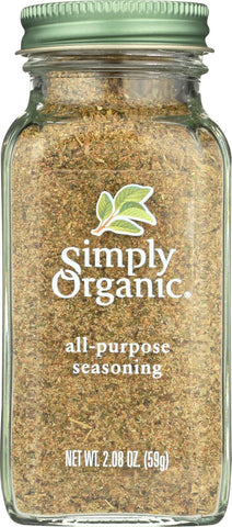 Simply Organic All Purpose Seasoning - Case Of 6 - 2.08 Oz.