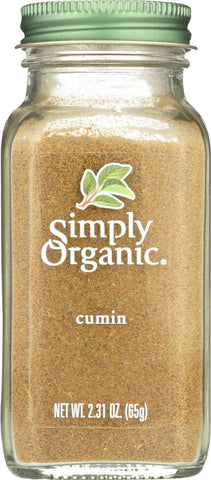 Simply Organic Ground Cumin Seed - Case Of 6 - 2.31 Oz.