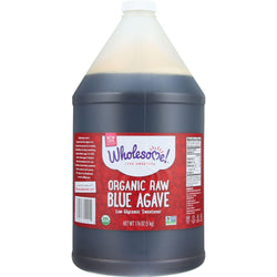 Wholesome Sweeteners Blue Agave - Organic - Raw - Gallon - 176 Oz - Case Of 2