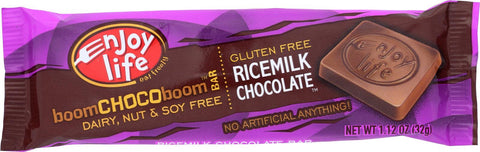 Enjoy Life Chocolate Bar - Boom Choco Boom - Ricemilk Chocolate - Dairy Free - 1.12 Oz - Case Of 24