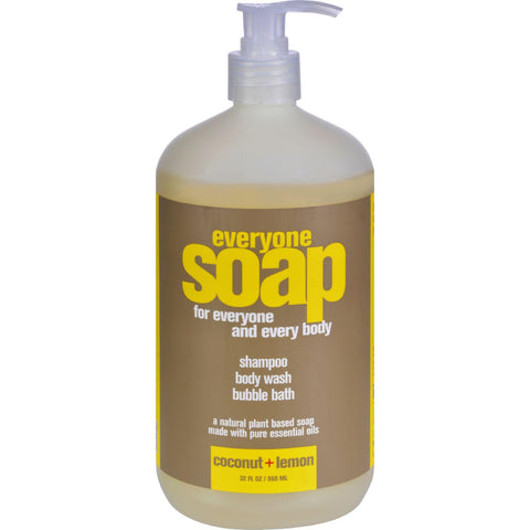Eo Products Everyone Liquid Soap Coconut And Lemon - 32 Fl Oz