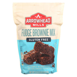 Arrowhead Mills Organic Brownie Mix - Case Of 6 - 17.5 Oz.