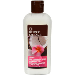 Desert Essence Shine And Refine Hair Lotion Coconut - 6.4 Fl Oz
