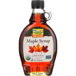 Field Day Maple Syrup - Organic - Grade B - 8 Oz - Case Of 12