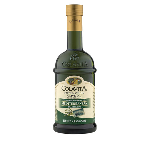 Colavita Extra Virgin Olive Oil - Mediterranean - Case Of 6 - 25.5 Fl Oz.