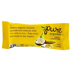 Organic Banana Coconut Raw Bar