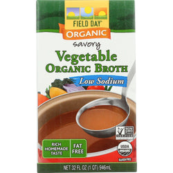 Organic Low Sodium Vegetable Broth