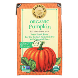 Farmer's Market Organic Pumpkin - Potato Puree - Case Of 12 - 16 Oz.