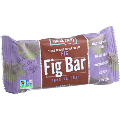 Nature's Bakery Stone Ground Whole Wheat Fig Bar - Original Fig - 2 Oz - Case Of 12