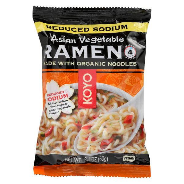 Koyo Vegetable Ramen - Case Of 12 - 2.1 Oz.