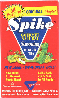 Modern Products Gourmet Spike Seasoning - Original - Case Of 12 - 7 Oz.