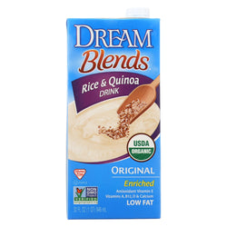 Dream Blends Original Rice And Quinoa Drink - Case Of 6 - 32 Fl Oz.