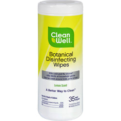 Cleanwell Disinfecting Wipes - 35 Count