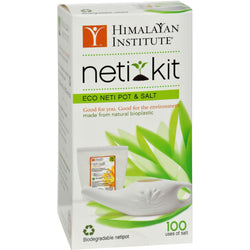 Himalayan Institute Neti Pot Eco Neti Kit