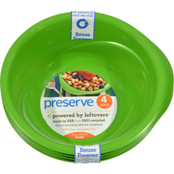 Preserve Everyday Bowls - Apple Green - 4 Pack - 16 Oz