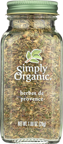 Simply Organic Herbes De Provence - Case Of 6 - 0.99 Oz.