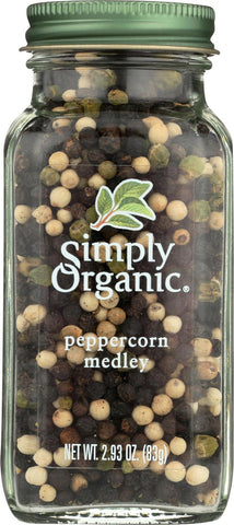 Simply Organic Peppercorn Medley - Case Of 6 - 2.93 Oz.