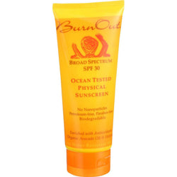 Burn Out Physical Sunscreen - Ocean Tested - Spf 30 - 3.4 Oz