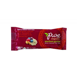 Pure Organic Ancient Grains Bar - Organic - Triple Berry Nut - 1.23 Oz Bars - Case Of 12