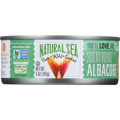 Natural Sea Tuna - White Albacore - No Salt Added - 5 Oz - Case Of 12