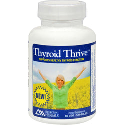 Ridgecrest Herbals Thyroid Thrive - Herbal - 60 Vcaps
