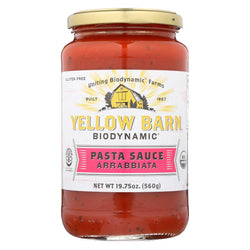 Yellow Barn Biodynamic - Arrabbiata Pasta Sauce - Case Of 6 - 19.75 Oz.