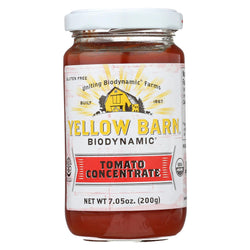 Yellow Barn Biodynamic - Tomato Concentrate - Case Of 12 - 7.05 Oz.