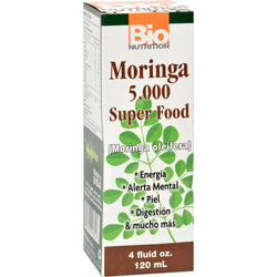 Bio Nutrition Moringa Super Food - 5000 Mg - 4 Fl Oz