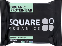Squarebar Organic Protein Bar - Cocoa Crunch - 1.7 Oz - Case Of 12