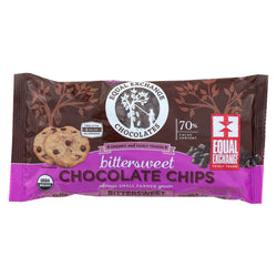 Equal Exchange Organic Bittersweet Chocolate Chips - Bittersweet Chocolate Chips - Case Of 12 - 10 Oz.