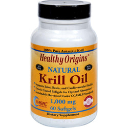 Healthy Origins Krill Oil - 1000 Mg - 60 Softgels