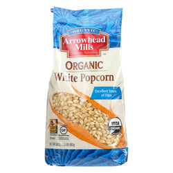 Arrowhead Mills Organic Popcorn - White - Case Of 6 - 24 Oz.