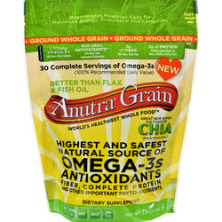 Anutra Omega 3s - Ground Whole Grain - 8.5 Oz