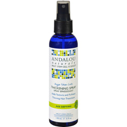 Andalou Naturals Thickening Spray - Argan Stem Cells - 6 Oz