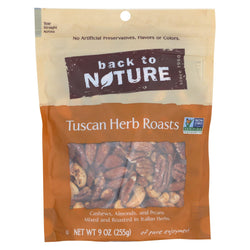 Back To Nature Tuscan Herb Roasts - Case Of 9 - 9 Oz.