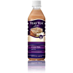 Teas' Tea Chai Tea Latte - Case Of 12 - 16.9 Oz.