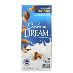 Dream Original Cashew Drink - Case Of 6 - 32 Fl Oz.