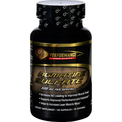Olympian Labs Agmatine Sulfate - Performance Sports Nutrition - 500 Mg - 60 Capsules