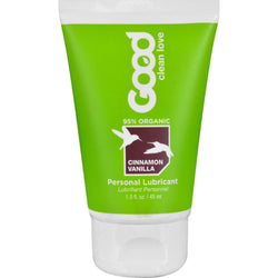 Good Clean Love Personal Lubricant - Organic - Cinnamon Vanilla - 1.5 Oz
