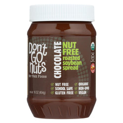 Don't Go Nuts Organic Chocolate Soy Butter - Case Of 6 - 16 Oz.