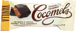 Cocomel Dark Chocolate Covered Cocomels - Vanilla - Case Of 15 - 1 Oz.