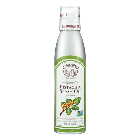 La Tourangelle Roasted Pistachio Spray Oil - Case Of 6 - 5 Fl Oz.