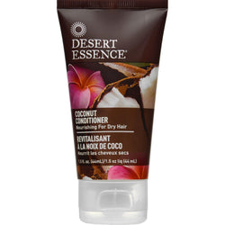 Desert Essence Conditioner - Nourishing - Coconut - Trvl - 1.5 Oz - 1 Case